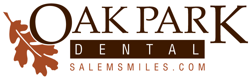 Oak Park Dental Logo, Salem Dentist